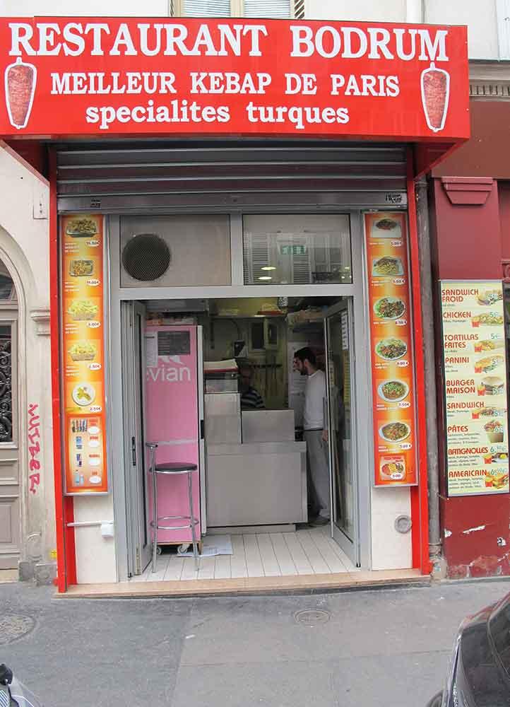 Najlepszy kebab w Paryżu, fot. Ludwik Lewin