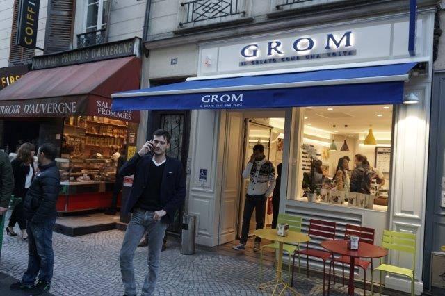 Lodziarnia Grom Paryż