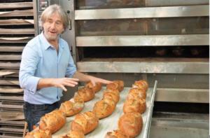Jean-Luc Poujauran w piekarni