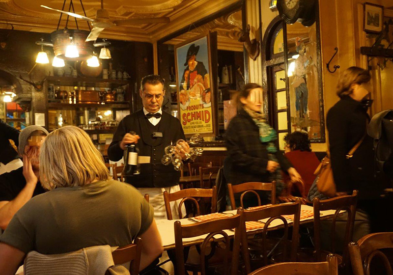 Paryż, La Brasserie de l'Isle Saint-Louis